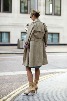 On the Street….Trenches, London & New York « The Sartorialist