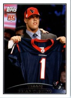 2009 Topps NFL Football ROOKIE Card #350 Brian Cushing Houston Texans (RC) NFL Trading Card by Topps. $2.52. 2009 Topps NFL Football ROOKIE Card #350 Brian Cushing Houston Texans (RC) NFL Trading Card