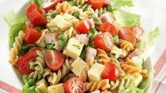 My Cookbook, Eat To Live, People Eating, Pasta Salad, Side Dishes, Food And Drink, Healthy Recipes, Healthy Food, Baking