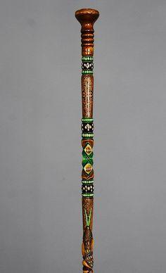Wooden Walking Stick Cane Handmade specıal Unique Turkish Canes GIFT OYM67
