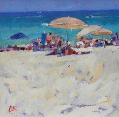 Scottish Artist Ian ELLIOT - Memories of Summer