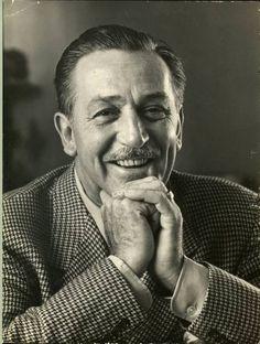 Walt Disney (photo by A. Eisenstaedt, 1953, LIFE collection)