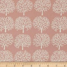 Alexander Henry The Ghastlies Forest Misty Rose from @fabricdotcom  Designed by Alexander Henry, this cotton print is perfect for apparel, quilting and home decor accents. Colors include dusty rose and white.