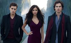 Vampire Diaries..yes..I love Vampires..and Ian Somerholder ...well..he is worth watching !!