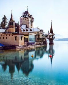 Oberhofen castle by @christofs70  Discover the most hidden places on our travel map!