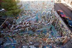 "Modern Mosaic in Isaiah Zagar's Magic Gardens: ""Shattering Expectations: Mosaic 2014″"