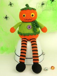 Pumpkin Longlegs Doll by Moji-Moji Design
