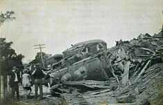 Train Wreck of 1907, Canaan, NH.