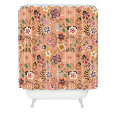 Pimlada Phuapradit Summer Field Shower Curtain | DENY Designs Home Accessories
