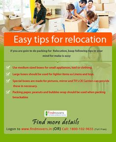 Tips to Make Relocation With Professional Packers Movers