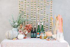Feminine fall Moon themed 1st birthday party on 100 Layer Cakelet