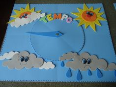Risultati immagini per painel do tempo English Classroom Decor, Preschool Classroom Decor, Preschool Crafts, Crafts For Kids, Weather For Kids, Teaching Weather, Educational Toys For Preschoolers, Classroom Birthday, Kindergarten Lessons