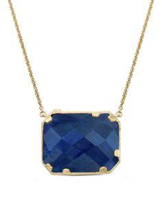 "Whitney Stern ""Glam"" 14K 24.22 ct. tw. Diamond & Corundum Necklace is on Rue. Shop it now."