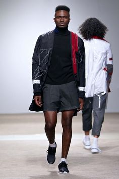 Male Fashion Trends: Tsepo Tsotetsi Fall-Winter 2017 - South Africa Menswear Week