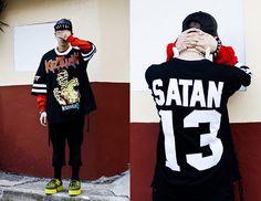 Os Fangs Cap, Os Jaws Necklace, Kokon To Zai Shirt, Demonia Creepers