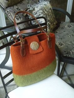 felted bags: