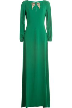 Roberto Cavalli - Floor Length Dress with Embellishment