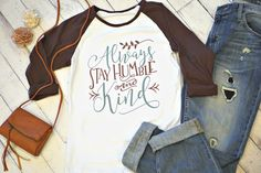 Humble & Kind Ladies Shirt:  $13.50 with a share!