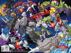 Transformers Devastation SDCC 2015 Poster by GuidoGuidi.deviantart.com on @DeviantArt