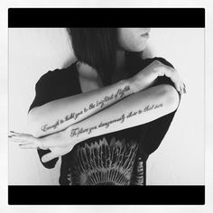 """""""enough to hold you to the brighest of lights , to place you dangerously close to the sun."""" I want a forearm tattoo soooo bad. Lyric Tattoos, Body Art Tattoos, Tattoo Quotes, Tatoos, I Want, Atmosphere Lyrics, Atmosphere Quotes, Piercing Tattoo, Piercings"""