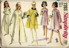 Vintage 1967 A Line Dress and Coat Standing by sydcam123 on Etsy, $12.00