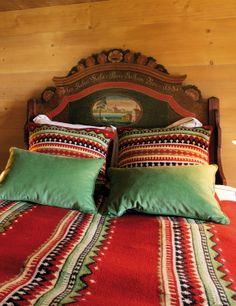 Bedding in master bdrm