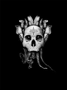 Black Voodoo I: Papa Legba - Martin Johansson. Check out his portfolio site... design/ collage/ illustration