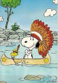 Chief Snoopy hanks you Woodstock for paddling our canoe so well! Snoopy Images, Snoopy Pictures, Peanuts Cartoon, Peanuts Snoopy, Snoopy Cartoon, Peanuts Thanksgiving, Happy Thanksgiving, Charlie Brown Thanksgiving, Thanksgiving Wallpaper