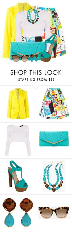 """""""#563"""" by joanaraquelgt ❤ liked on Polyvore featuring Etro, Moschino, Kendall + Kylie, Jessica McClintock, Chico's, Valentin Magro and Valentino"""