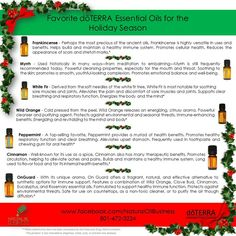 Check out the amazing seasonal oils from #doterra