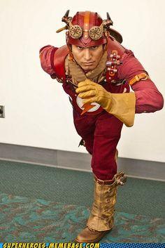 Steampunk Flash!