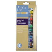 Artist's Loft™ Fundamentals™ Gouache Paint, 12 Count