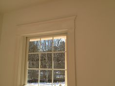 RBS moldings for window casing detail and crown molding for a project in Rhode Island.