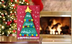 origamitree mn   Christmas card ideas   #ChristmasCrafts #Age5 7