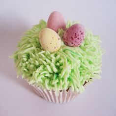 Easter Cupcake by missnattiescupcakes.co.uk Easter Cupcakes, Eggs, Breakfast, Desserts, Food, Morning Coffee, Tailgate Desserts, Deserts, Essen