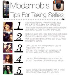 Tips For Taking Selfies!!!
