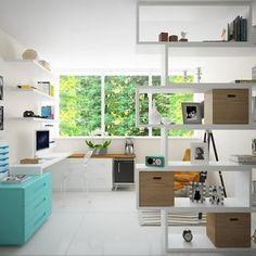 """""""Home Office Residencial Nova Cantareira Luciane Mota Viva Decora - 34753"""""""
