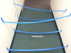Matt Jolley is a personal trainer. Preschoolers will enjoy this physical activity. Set up this 3-D masking tape maze in the hall and challenge preschoolers to go through it.