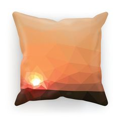 New in Evoke & Fuel Suns..., make sure to come check us out! http://evokeandfuel.com/products/sunset-horizon-cushion?utm_campaign=social_autopilot&utm_source=pin&utm_medium=pin