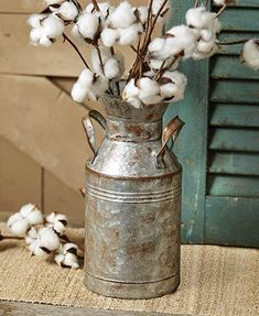 The Rustic Country Milk Can Decor is the perfect addition to your country-themed home. Use this authentic-looking milk can as a vase to hold real or faux flower