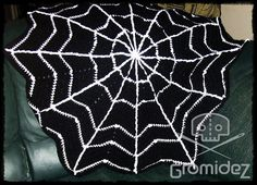 Spiderweb Blanket Large/Adult CUSTOM by Gromidez on Etsy