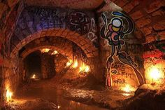 Arte nos subterrâneos de Paris