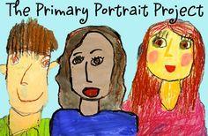 The Primary Portrait Project: Oil Pastel | Deep Space Sparkle