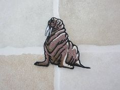 Items similar to Brown Walrus Patch - Iron On Patch - SeaWorld on Etsy Baby Walrus, Sea World, Iron On Patches, Moose Art, Lion Sculpture, Statue, Brown, Unique Jewelry, Handmade Gifts