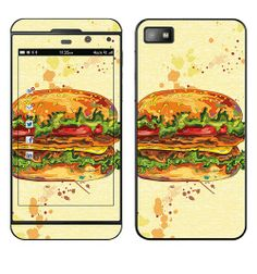 SKIN BLACKBERRY Z10 - HAMBURGER SPECIAL