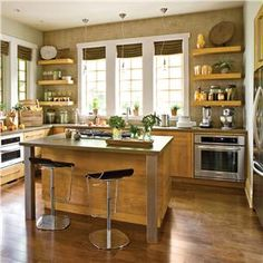 Contemporary (Modern, Retro) Kitchen by Traci Kearns