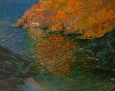 Small Rocky Bay of Nans (Cadaques) - Salvador Dali  #dali #paintings #art