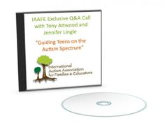 Guiding teens on the autism spectrum. Audio with Dr. Tony Atwood.