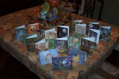 Set of 10 YOU CHOOSE James Browne Greeting Cards by brownieman, $15.00