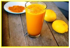 Golden water with Turmeric and Lemon says the morning elixir ( Recipe ) / Natural Master Detox Drinks, Healthy Drinks, Healthy Recipes, Healthy Detox, Healthy Juices, Juice Recipes, Stay Healthy, Healthy Food, Healthy Eating